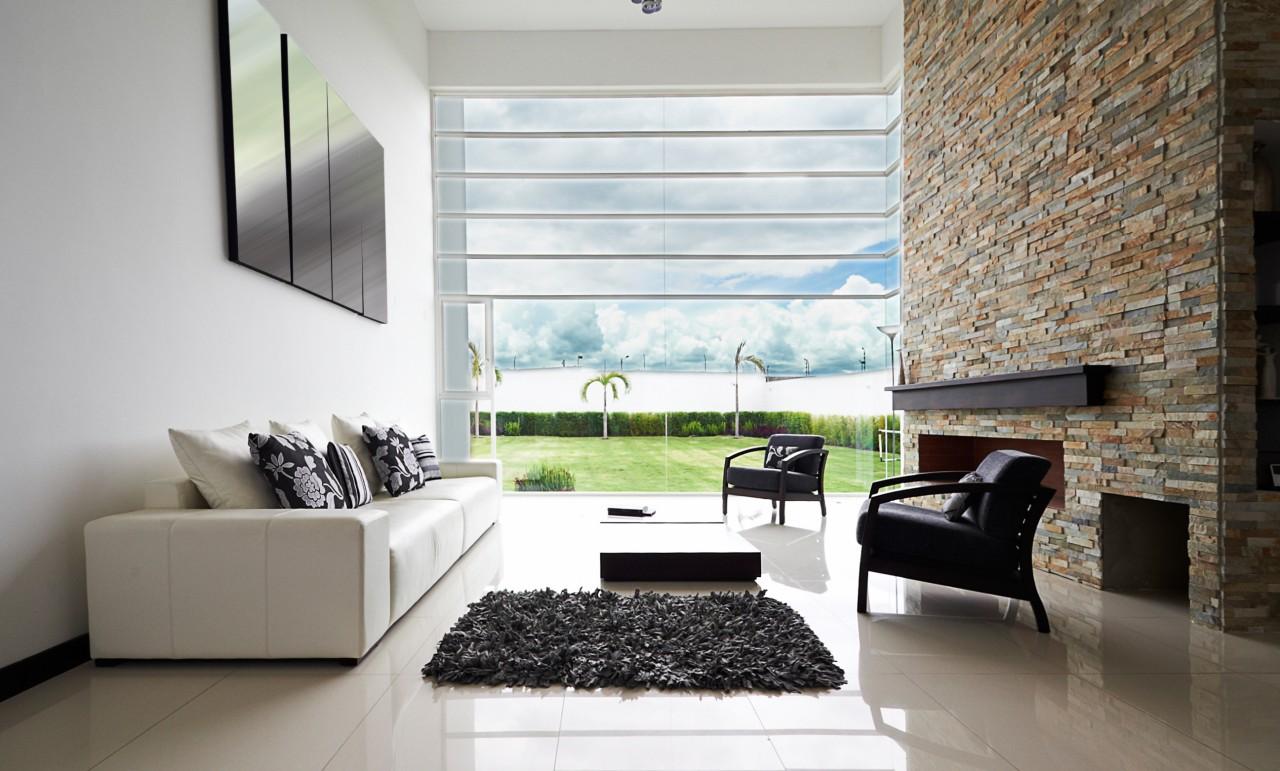 Top Designermøbler i flot stue med lækker boligindretning - Gnuskole DF16